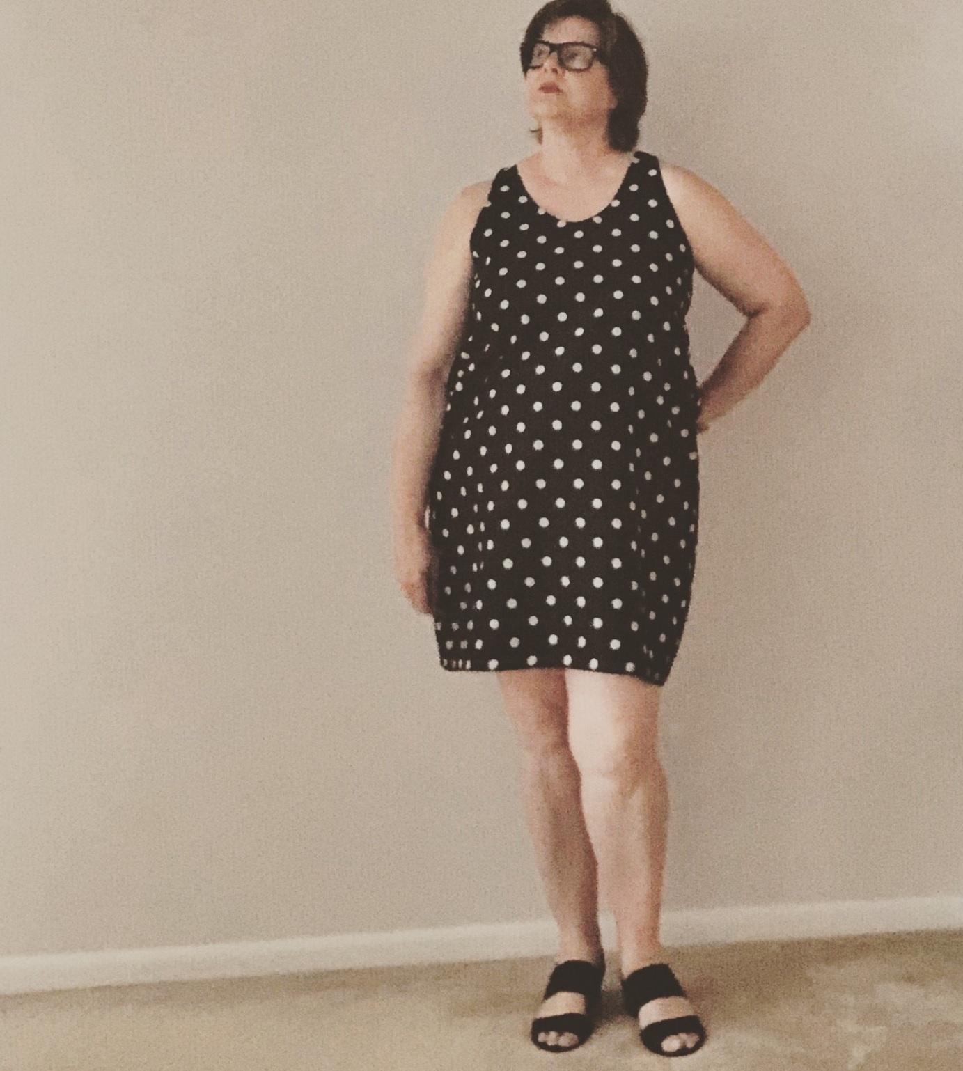 Slip Dress sewing pattern, by Ann Normandy Design