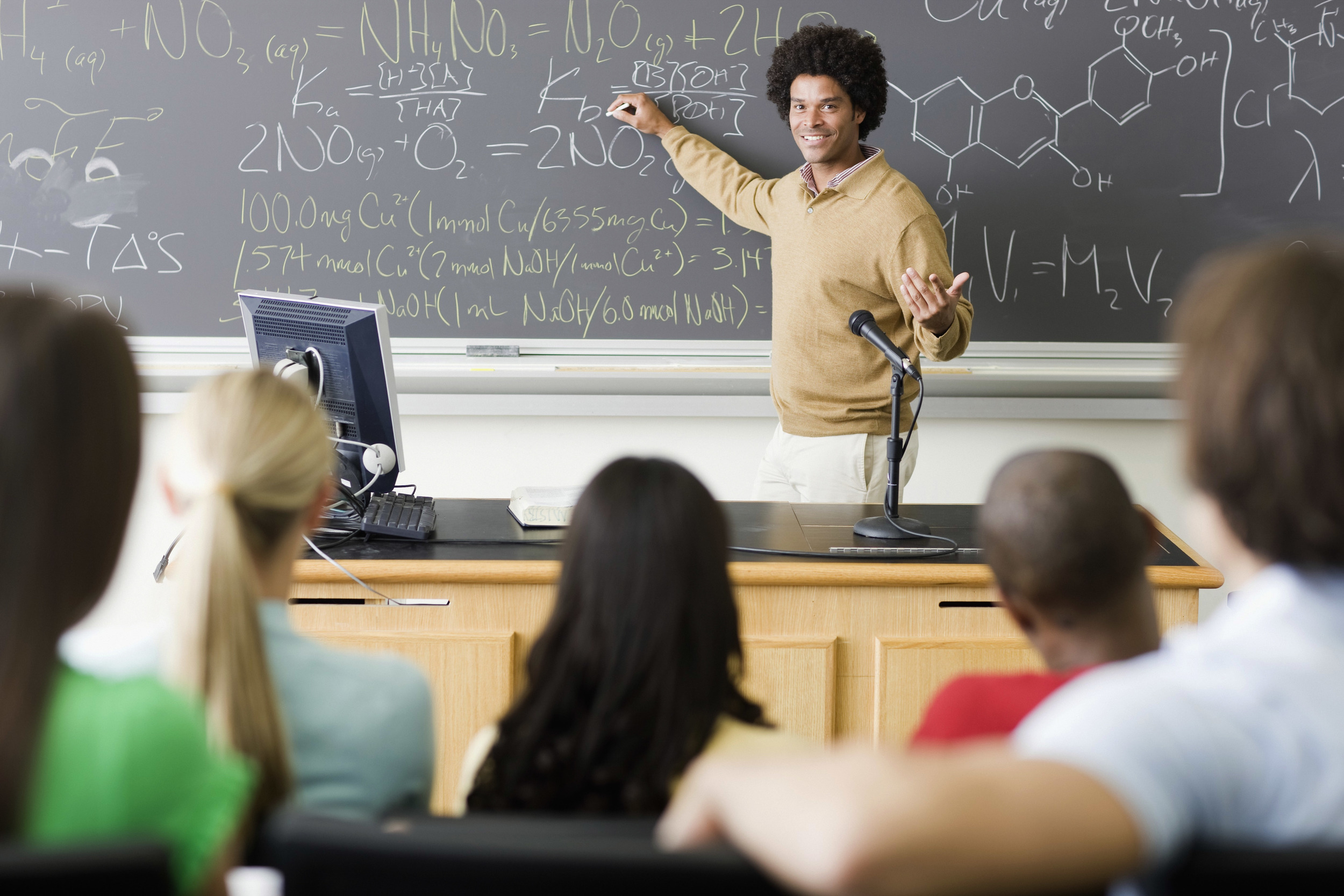 The student as the customer, in and out of the classroom