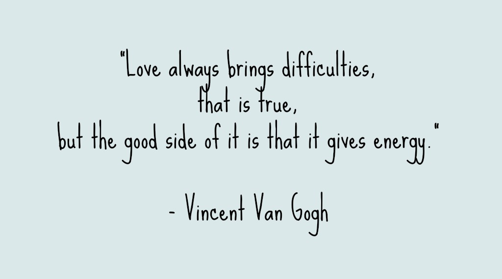 Vincent Van Gogh Quote Sarah Meder