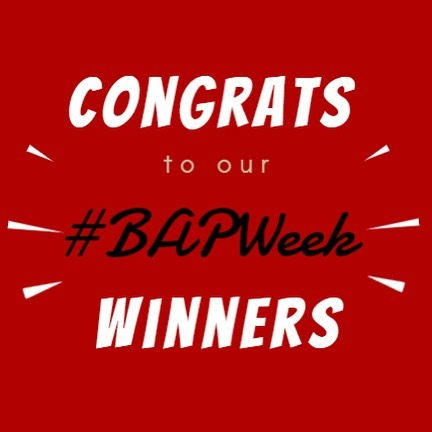 Congratulations to our Spring 2019 #BAPWeek Winners!✨🎉 Thank you to everyone that submitted a picture.  Special Shoutout to our Formal Friday winner, Annie Lu! We love to see our BAP members participation in other organizations such as Global Entrepreneurship Experience.  #BAPWeek Winners 🔹Mentor Monday - Elena Reyes 🔹Team Tuesday - Daniel Blickensderfer 🔹Warm Wednesday - Jessica Caigoy 🔹Throwback Thursday - Gino Thanajittharakij 🔹Formal Friday - Annie Lu  All #BAPWeek winners should be a receiving an email soon with more details on how to pick up your prize. If you have any questions, feel free to email our social director at social@unlvbap.org  We hope to see you all participate in our next #BAPWeek!
