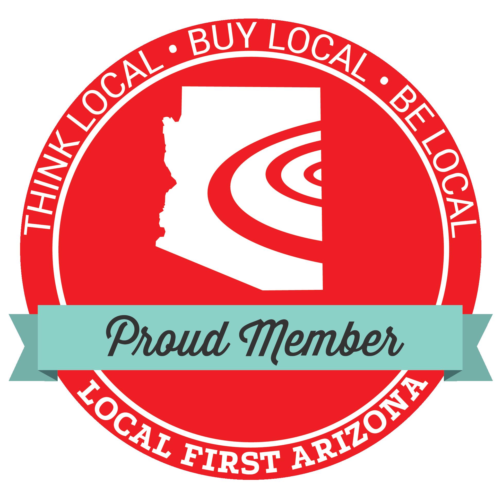 Local First Arizona Proud Member banner