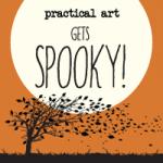practical art halloween