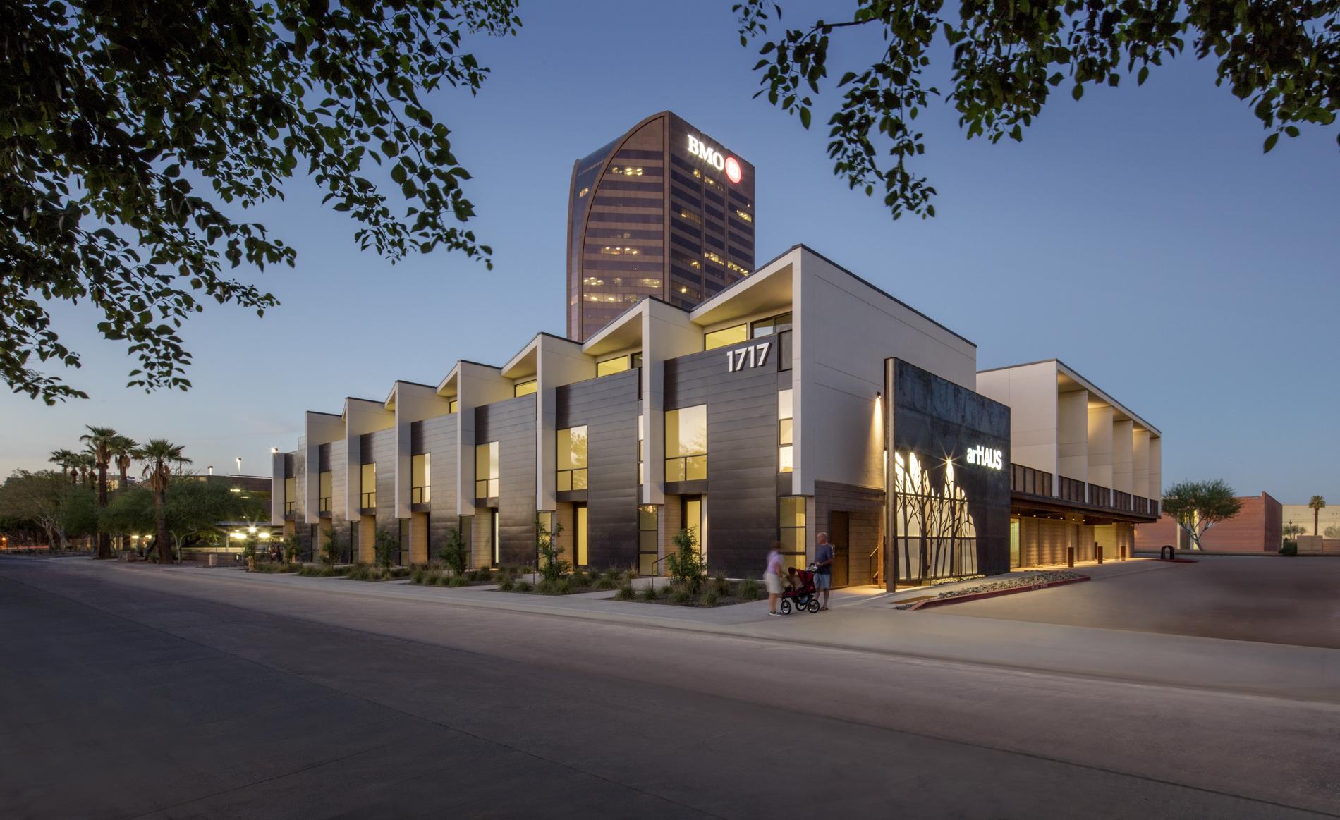 """artHaus,"" Midtown Phoenix, developer and architect, artHaus Development"