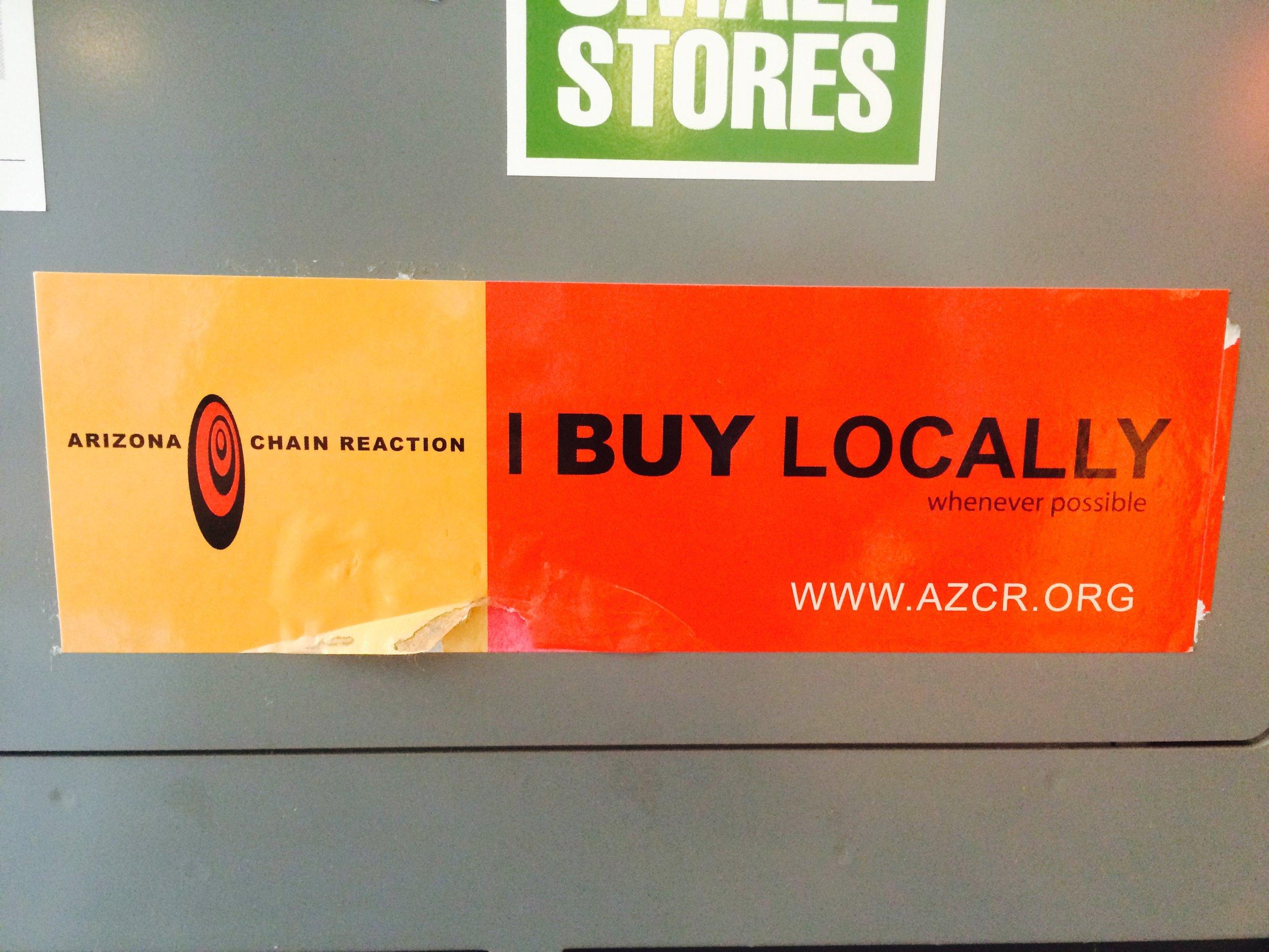 2003: Kimber Lanning launches Local First Arizona (originally as Arizona Chain Reaction)