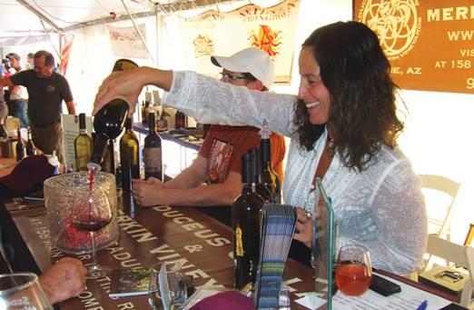 Caduceus Cellars, Sedona Winefest Photo Credit: Sedona Monthly