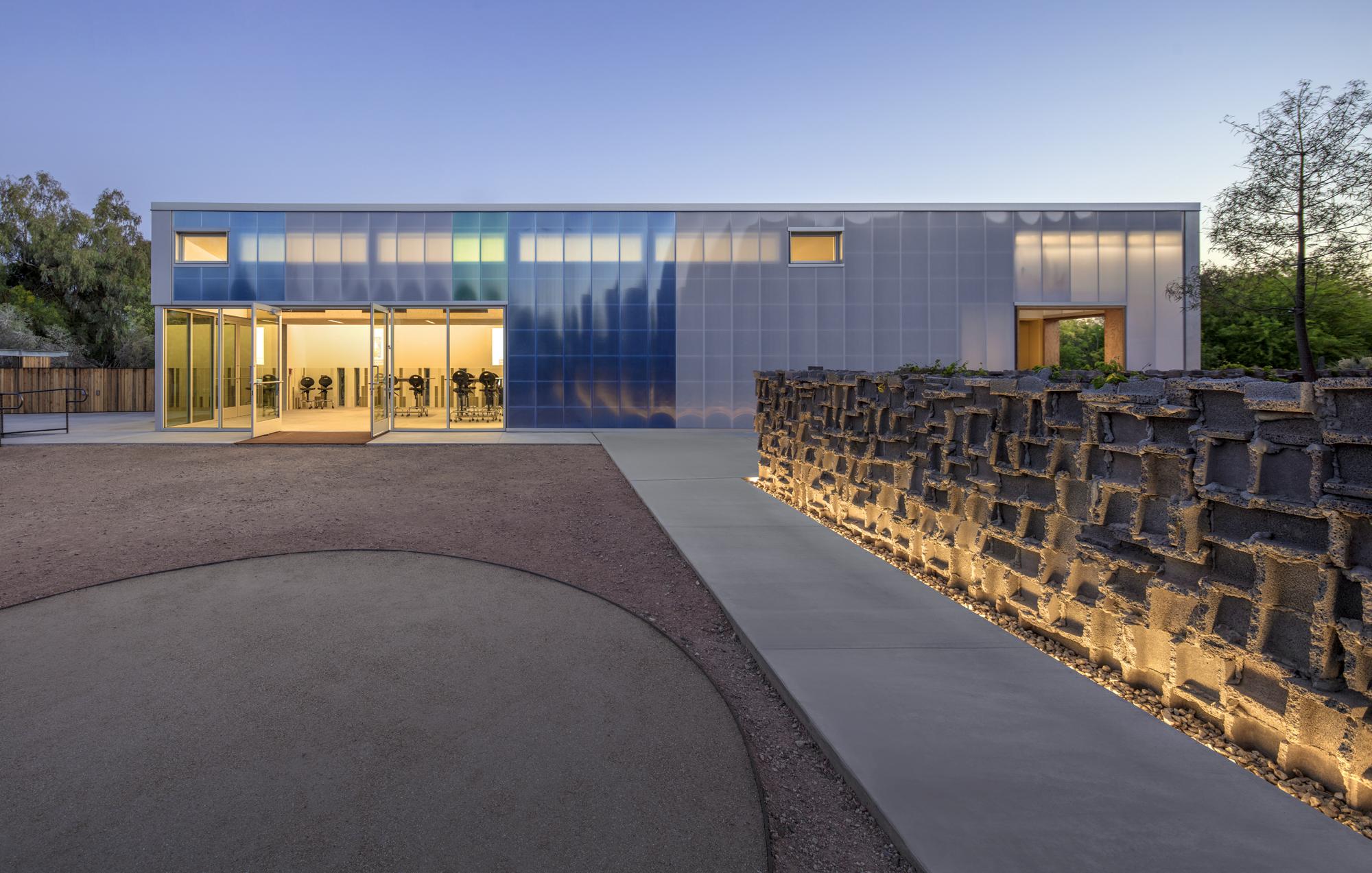 Desert Botanical Garden's Hazel Center for Plant Science. Image courtesy of 180 degrees and Bill Timmerman