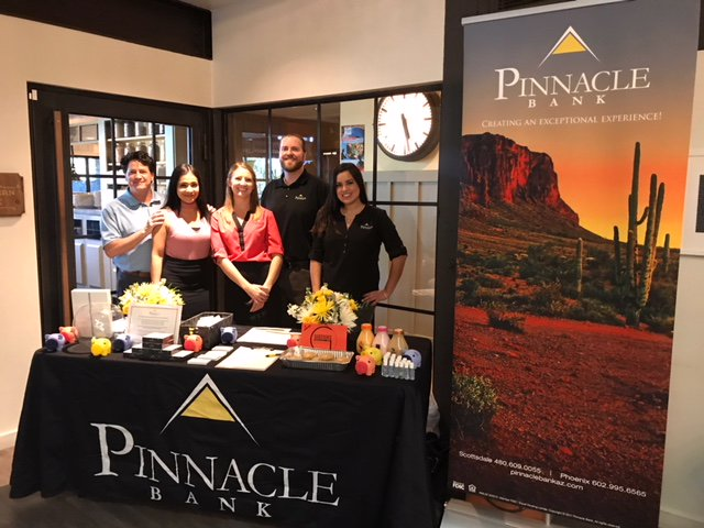 Pinnacle Bank joined Local First Arizona once again at their annual Community Banking Month meet and greet at The Newton this April.