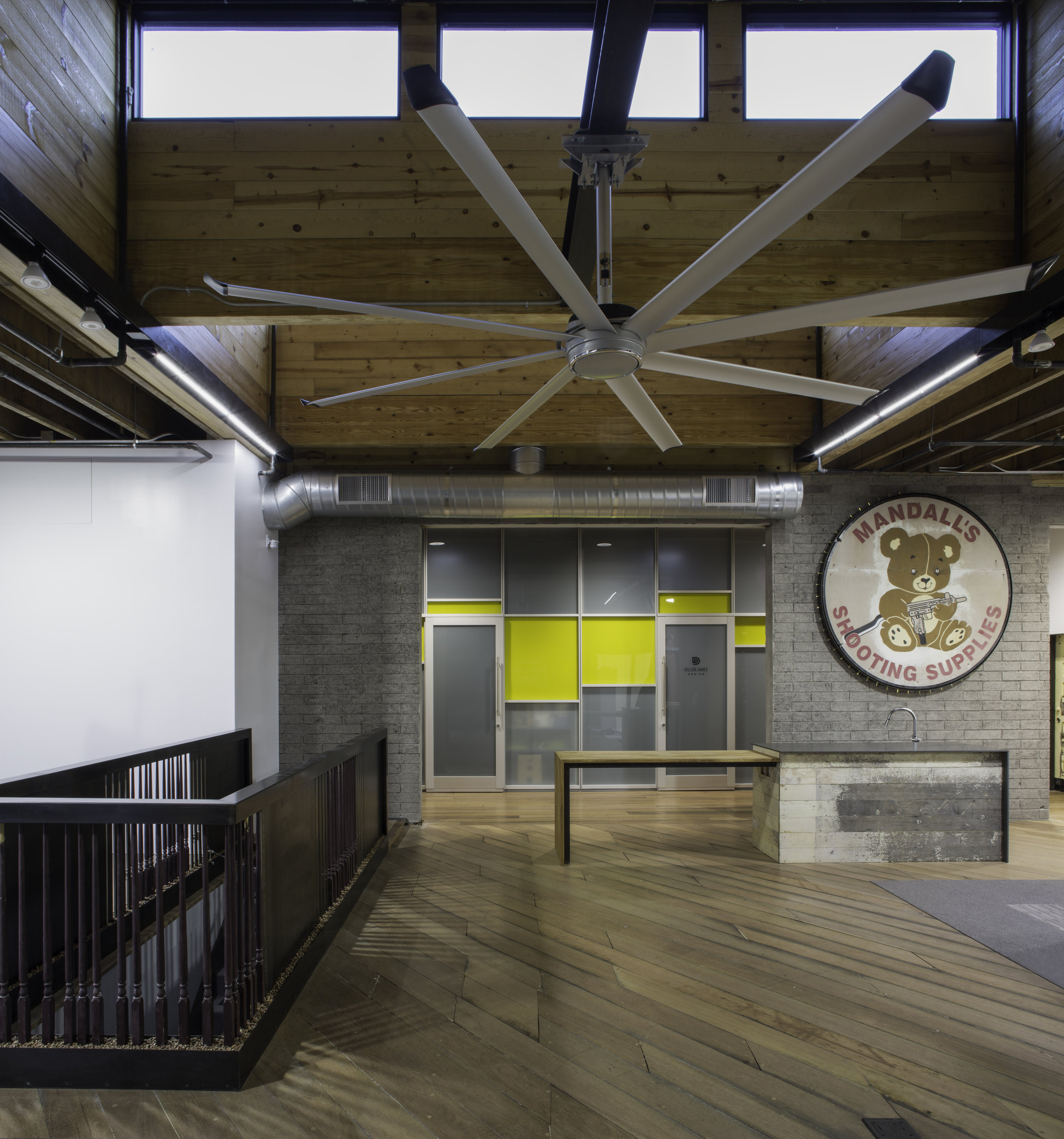 """The Creative Center of Scottsdale,"" Old Town Scottsdale, interior architecture, 180 degrees design + build"