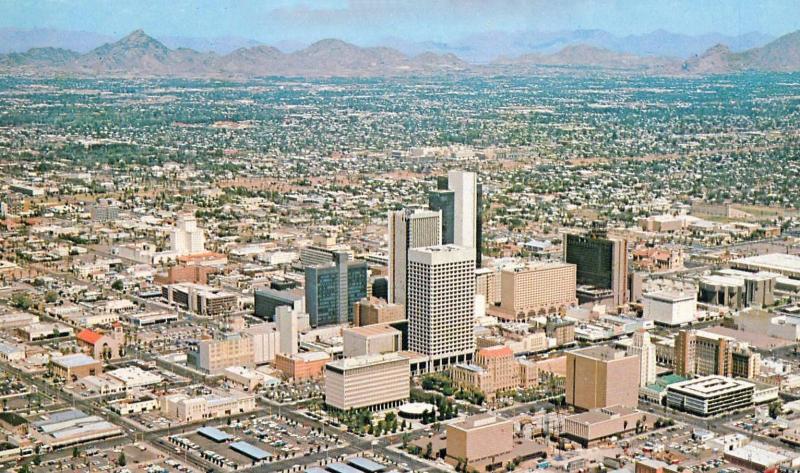 1970's Phoenix, photo courtesy of Jon Talton