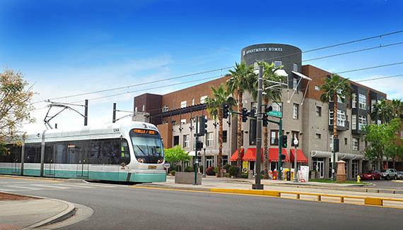Roosevelt, in downtown Phoenix, AZ.