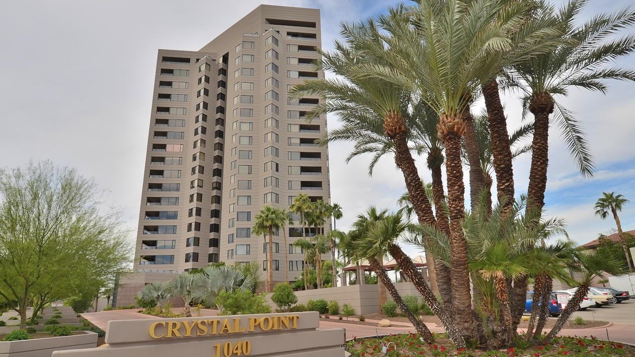 Crystal Point Towers on 10th St. and Osborn Rd. in Phoenix, AZ.