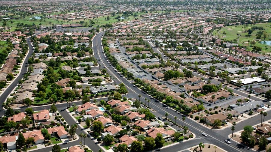 Phoenix suburbs.