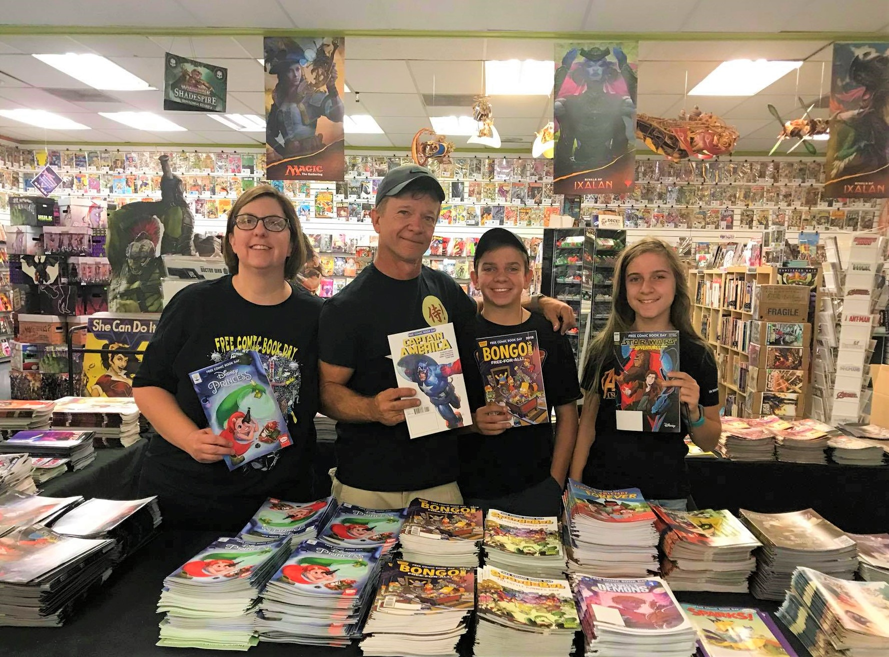We love Head Honcho, and dad, Mike Banks from Samurai Comics! We hope you have a great Father's Day Weekend.