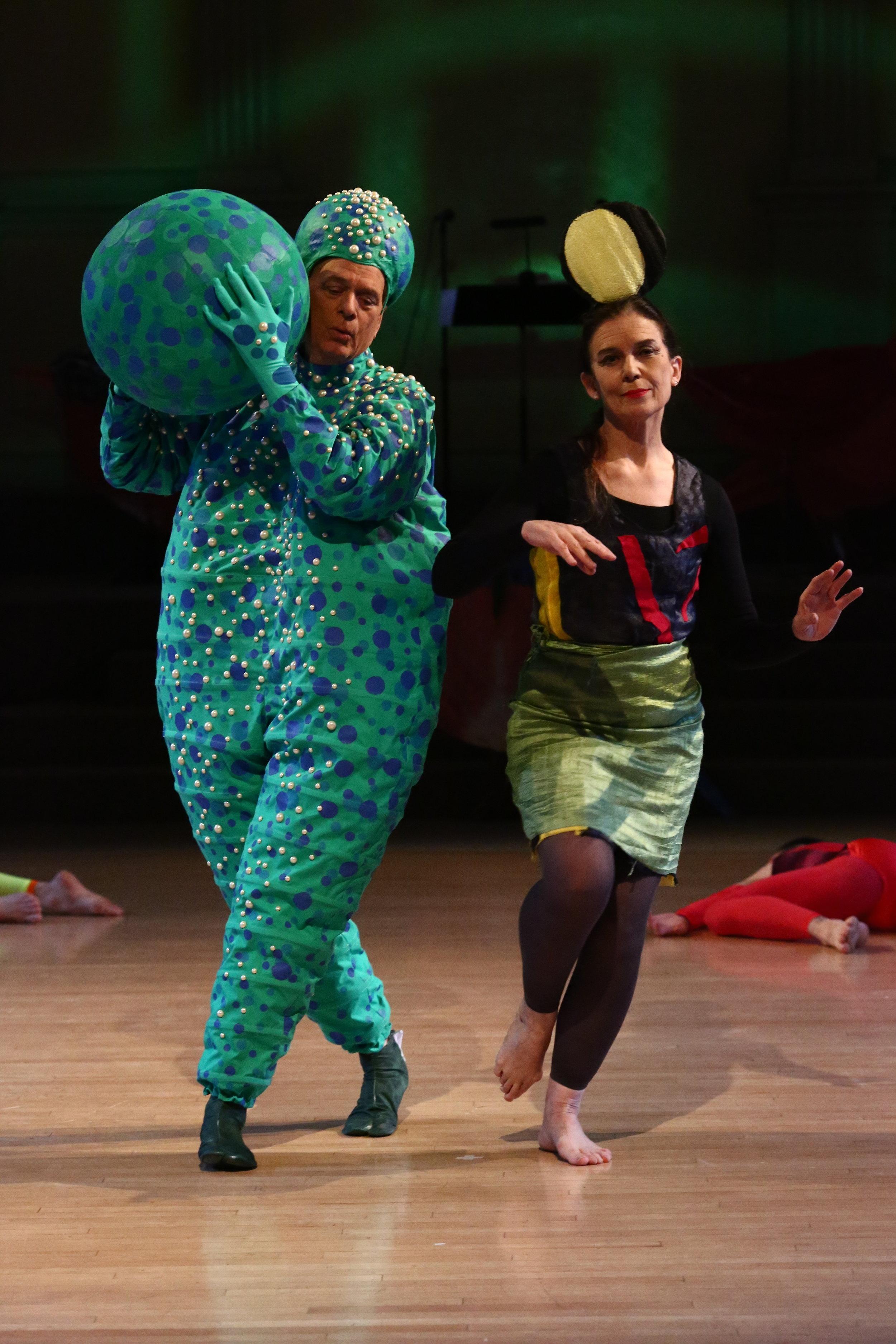 Dancers: Douglas Dunn & Grazia Della-Terza, Photo © Paula Court, 2017