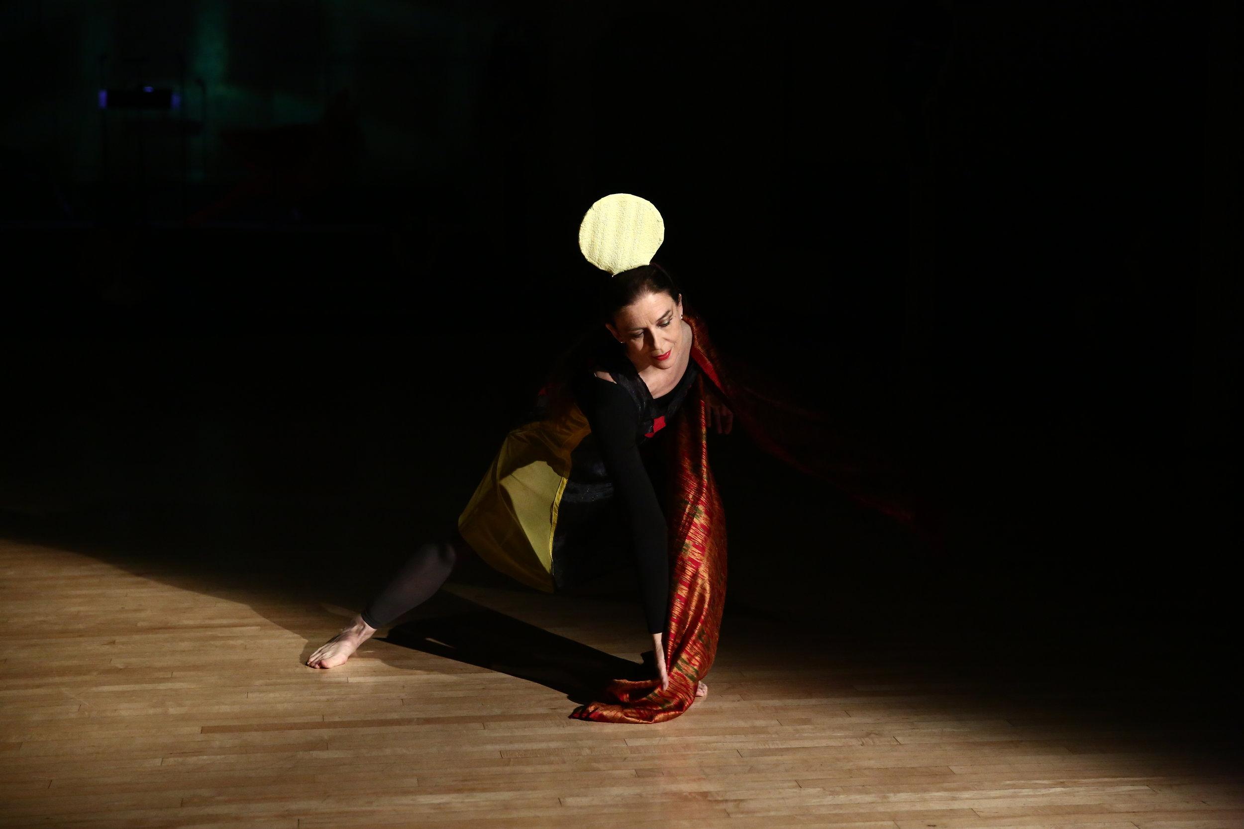 Dancer: Grazia Della-Terza, Photo © Paula Court, 2017