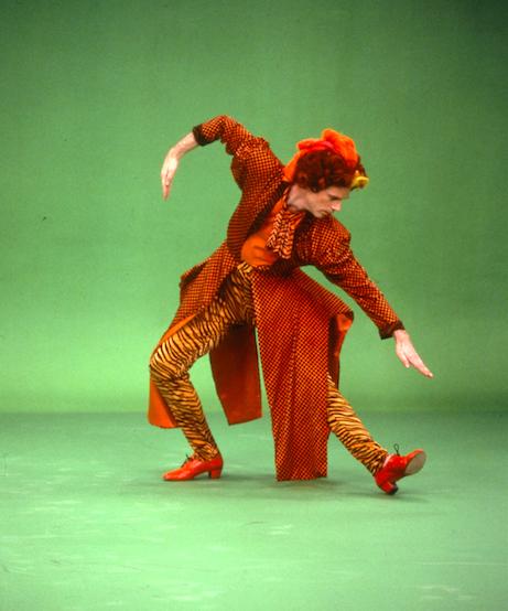 Douglas Dunn,  Myth of Modern Dance.  Photo by Sheila O'Neal, 1990