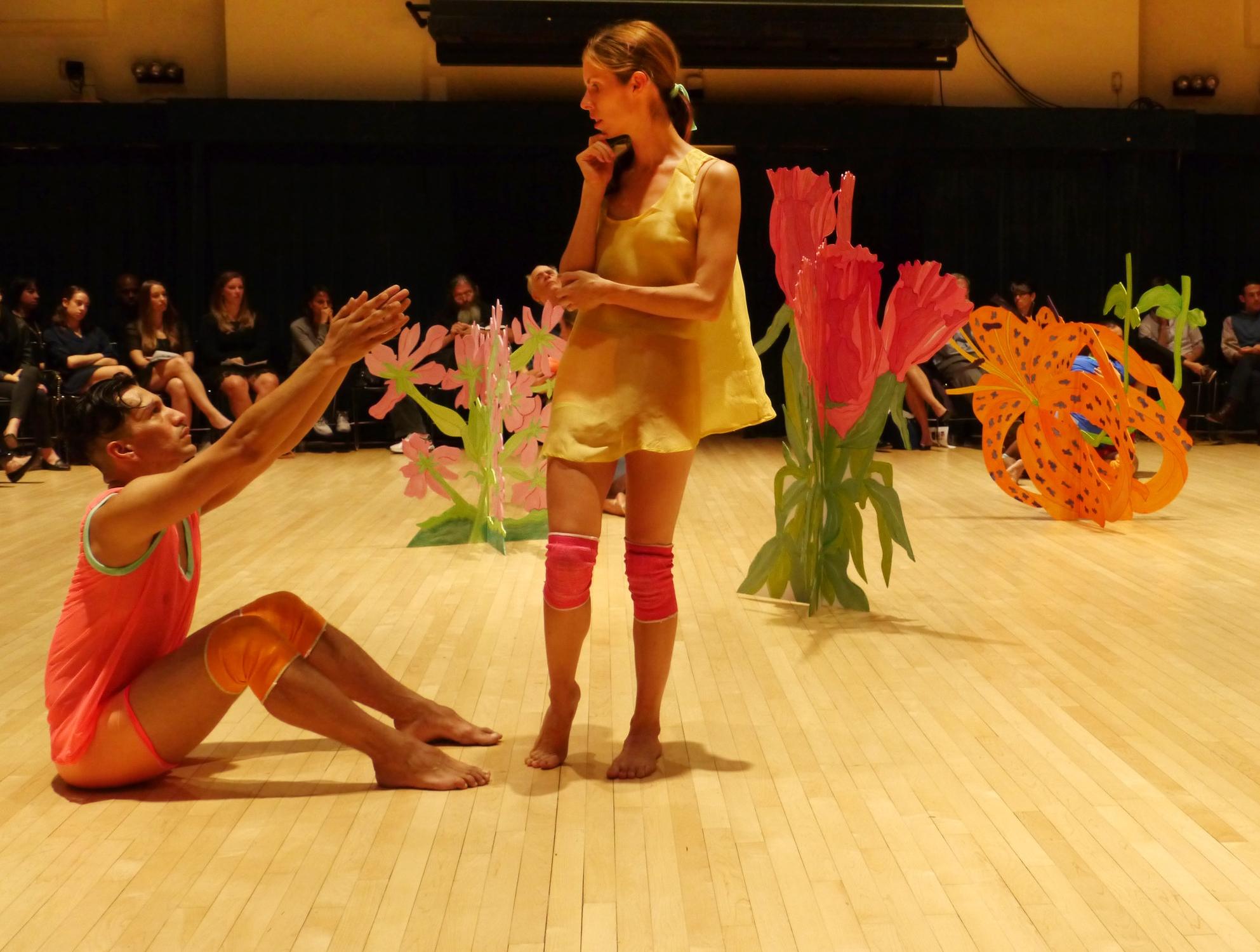 Cassations,  Dancers L to R: Miguel Anaya, Gabriella Hiatt. Photo Jacob Burkhardt, 2012