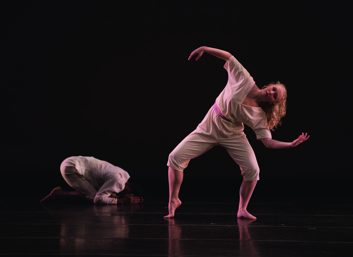 Dancers L to R: Emmanuel Patterson and Blythe Koster, Photo by Rosalie O'Connnor, 2019