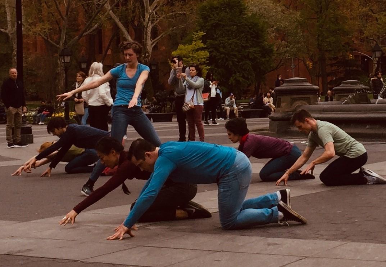 Douglas Dunn + Dancers,  Vain Combat,  Photo by Grazia Della-Terza, 2019