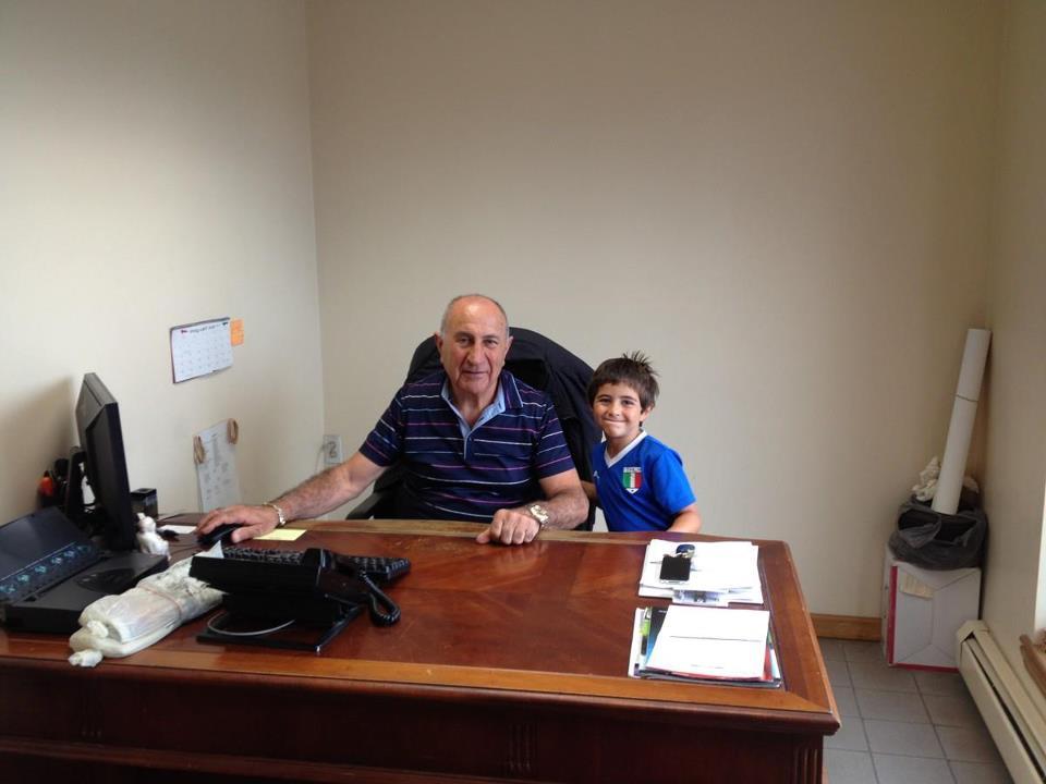 Victor LaPira and his grandson