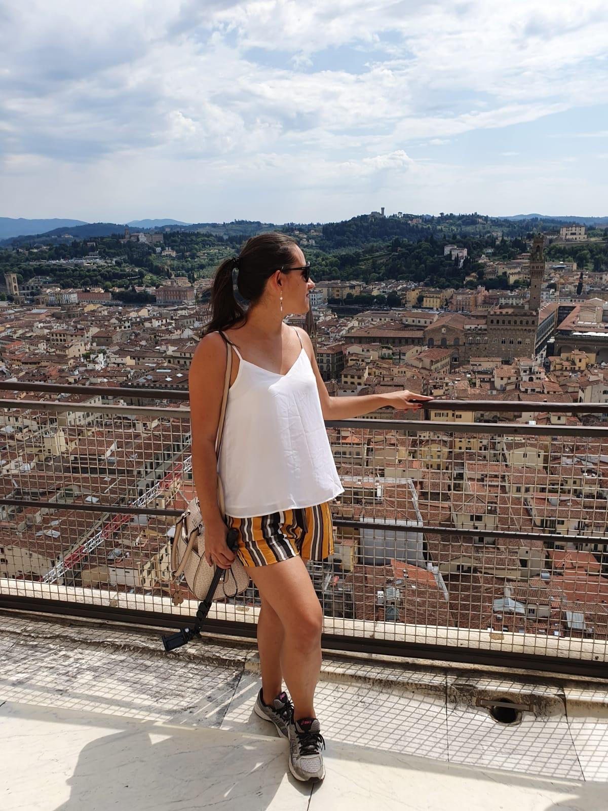 Vale a pena subir - Cada degrau vale essa vista linda!