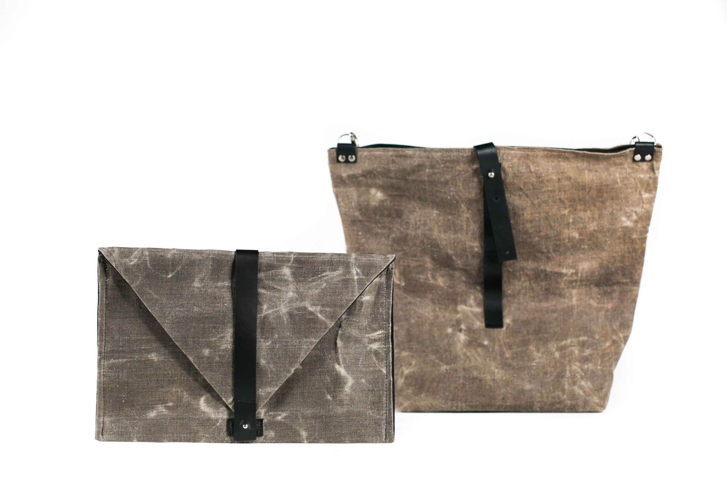 The Kate Envelope bag & the Dorothy Tote
