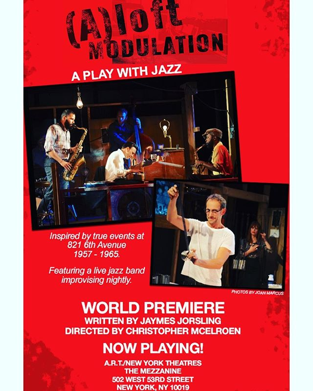 """Nyc friends dont miss the Premiere of """"(A) Loft Modulation """" premiering tonight and running all month . An """"American Vicarious"""" production with over 60 years in the making!! The fictionalized story based on the true events of Life Magazines Photographer Eugene Smiths loft where Thelonious Monk took up residence as archived in the Book """"the Jazz Loft Project """"."""