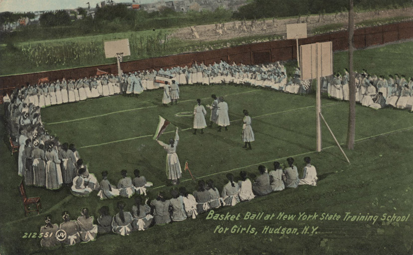 Training School For Girls in Hudson, NY postcard. Photo from  Museum of disABILITY History