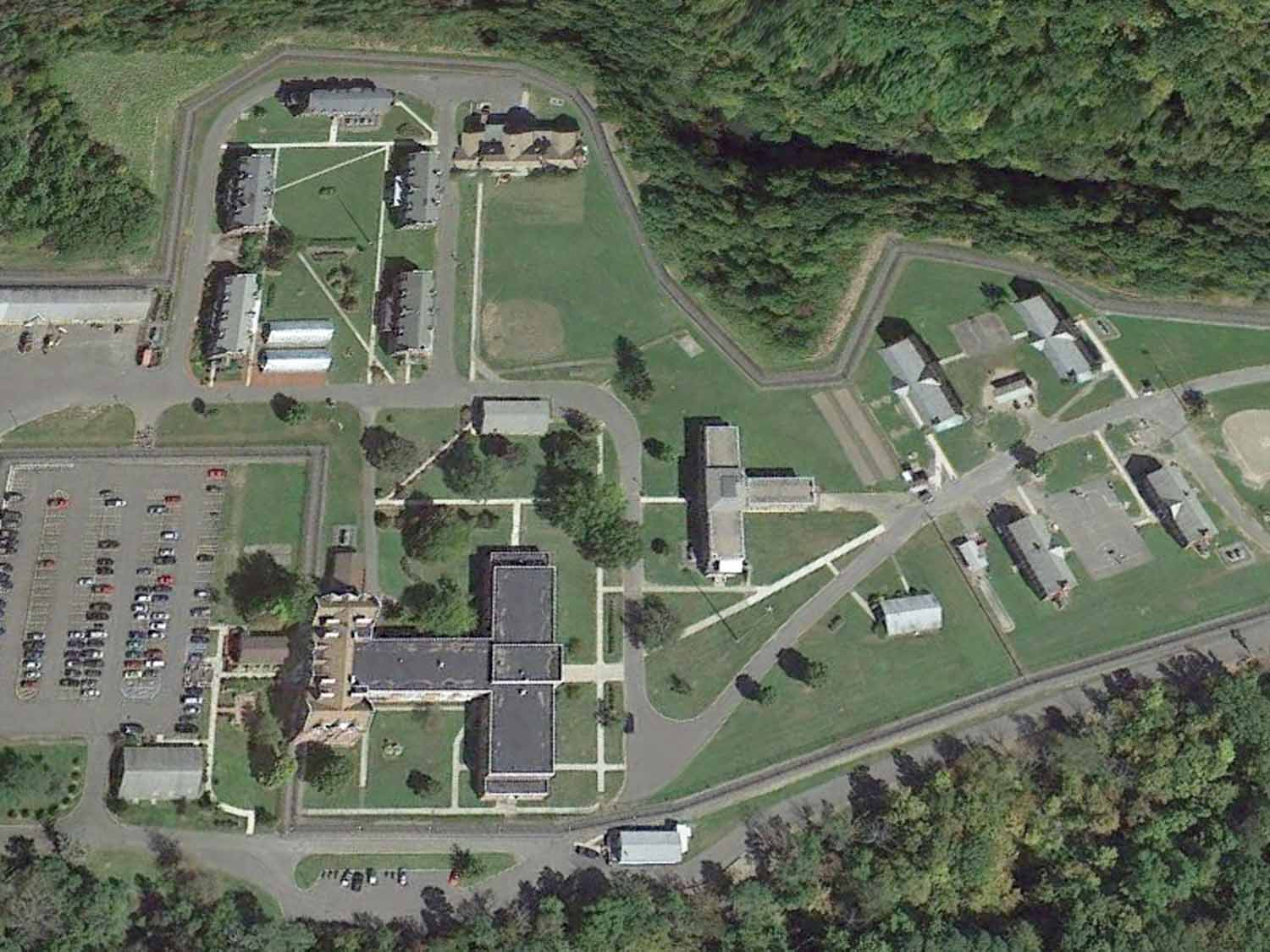 Photo:   Aerial image of Hudson Correctional Facility, Hudson, NY.   Courtesy of Google Earth imaging services.