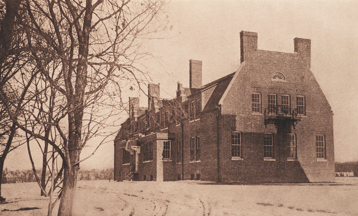A cottage building at the  NY Training School for Girls  in  Hudson, NY.