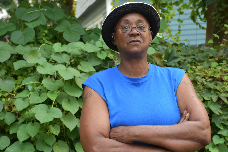 Jennifer Vinson, former resident at the  New York State Training School for Girls in Hudson, NY