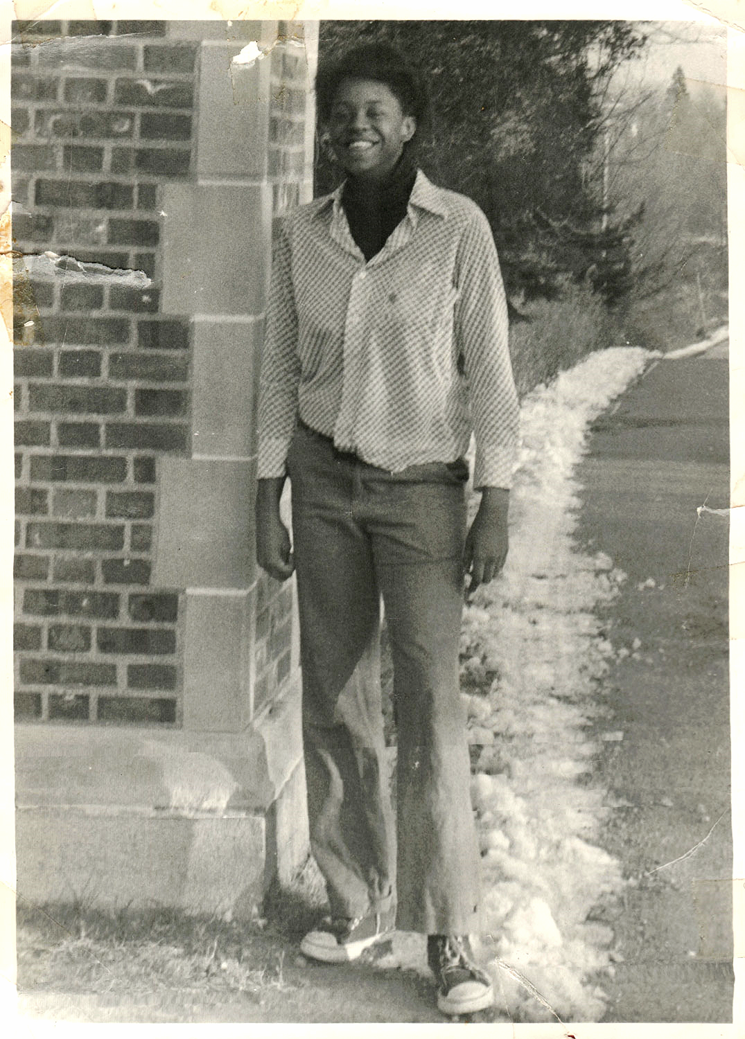 Jennifer Vinson as a teenager at the Girls' Training School in Hudson, NY