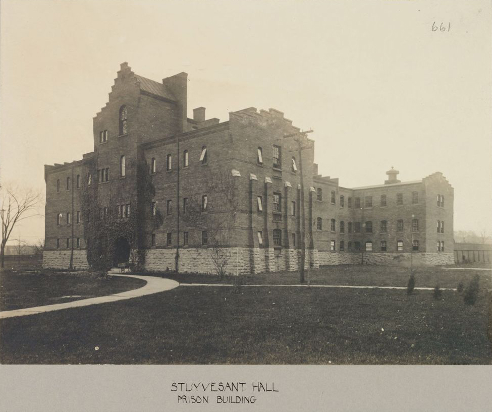 Stuyvesant Hall, also known as the prison building, House of Refuge for Women, Hudson, NY