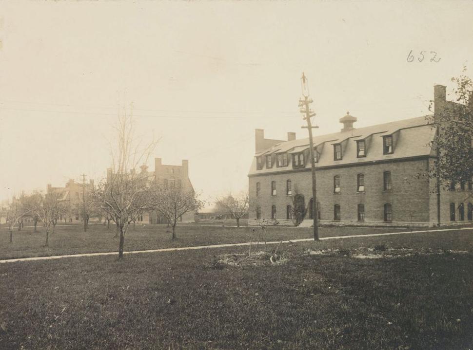 Willard Cottage (#5), Van Rennselaer Cottage (#6),and Dix Cottage, House of Refuge for Women, Hudson, NY