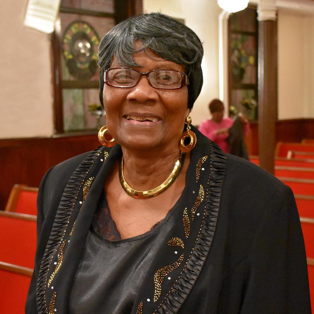 Reverend Mabel Blanks, former teacher at the NYS Training School for Girls