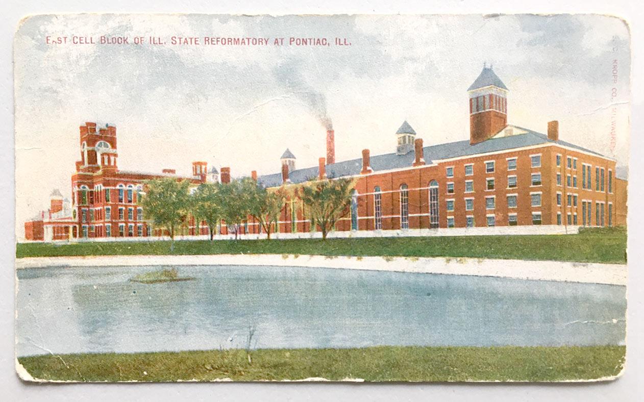 Postcard of Illinois State Reformatory