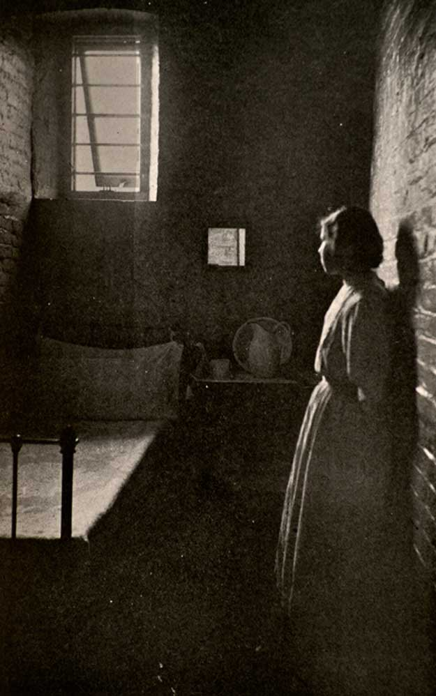 Girl in solitary confinement, Hudson NY
