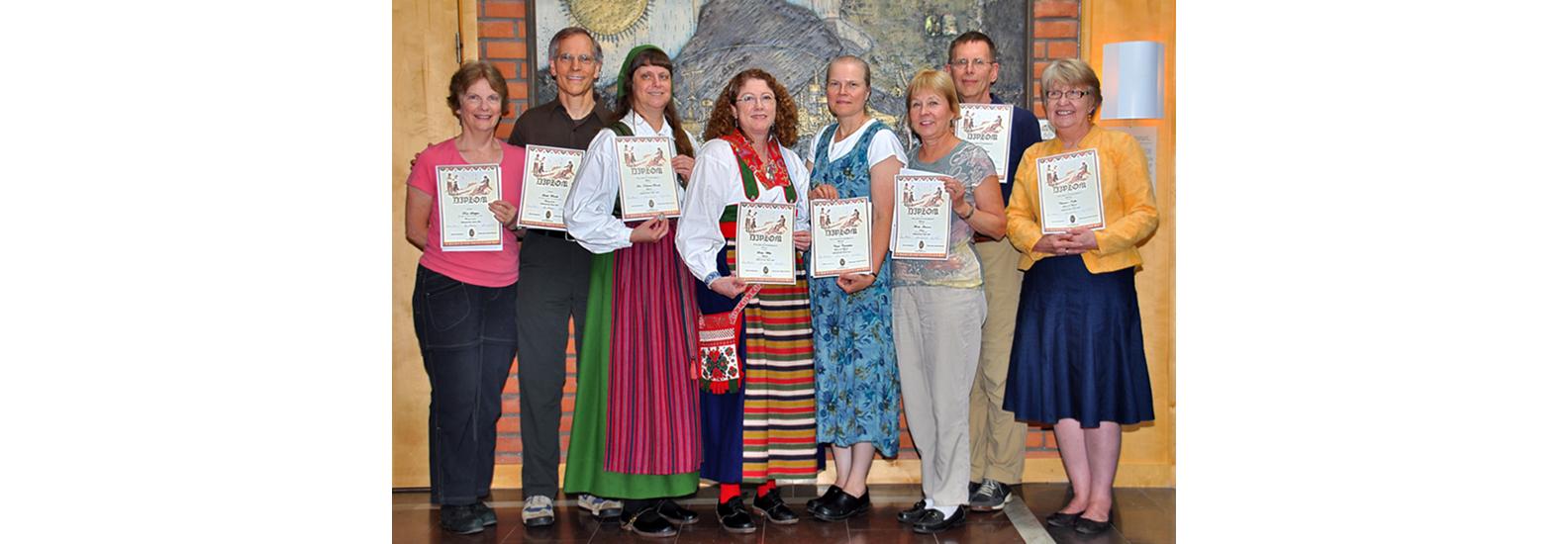 Scandia DC Uppdansning Participants: Östersund, Sweden - August 2010