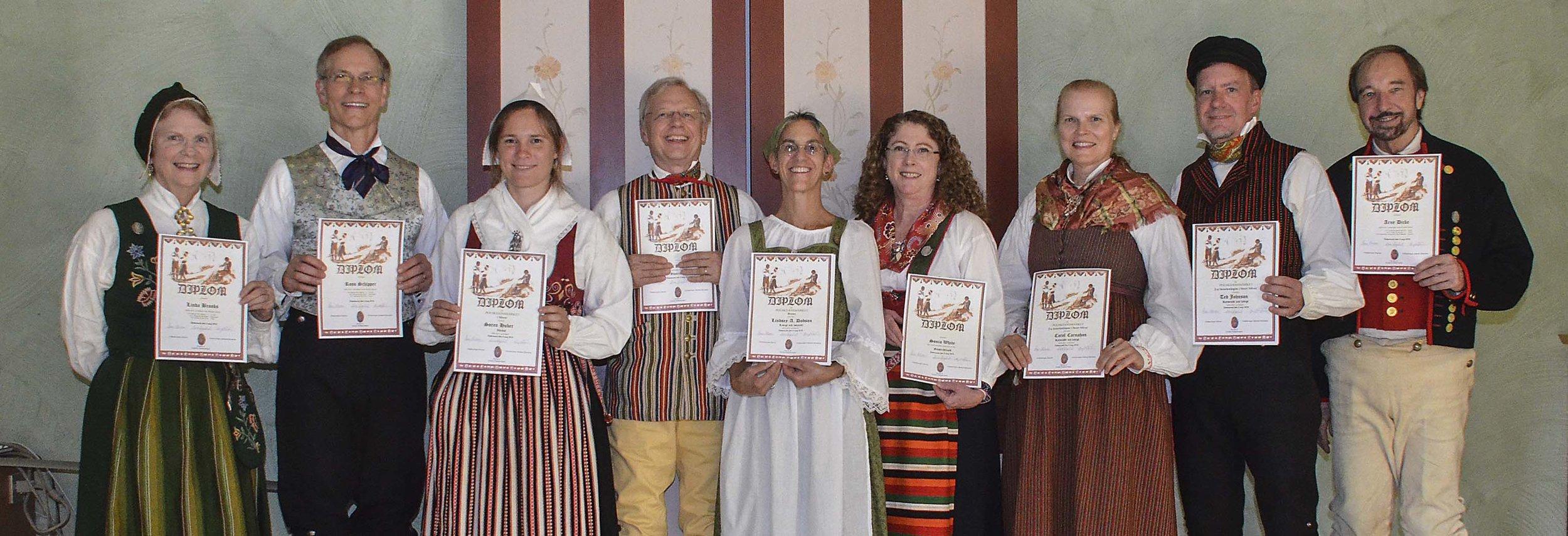 Scandia DC Uppdansning Participants: Östersund, Sweden, August 2016