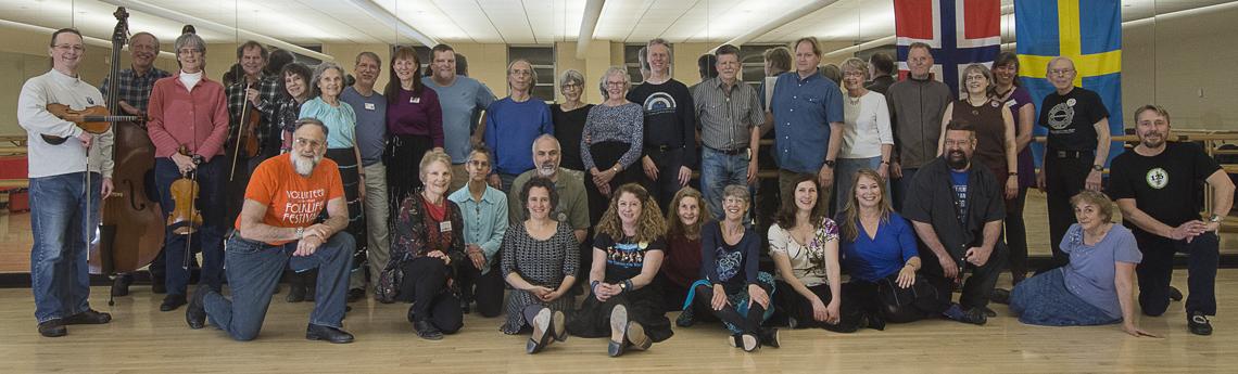 Scandia DC 3rd Saturday Dance - January 19, 2019 (Photo by Stan Turk)