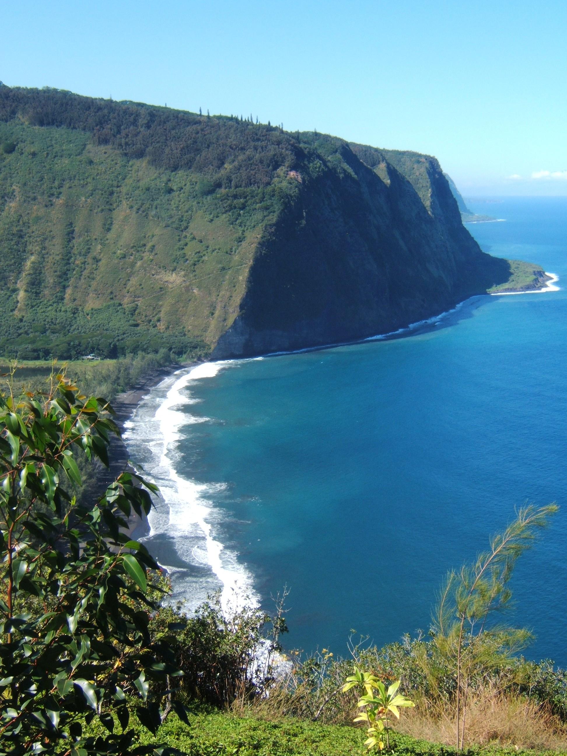 Waipiʻo Valley, Hawaiʻi. 2006.
