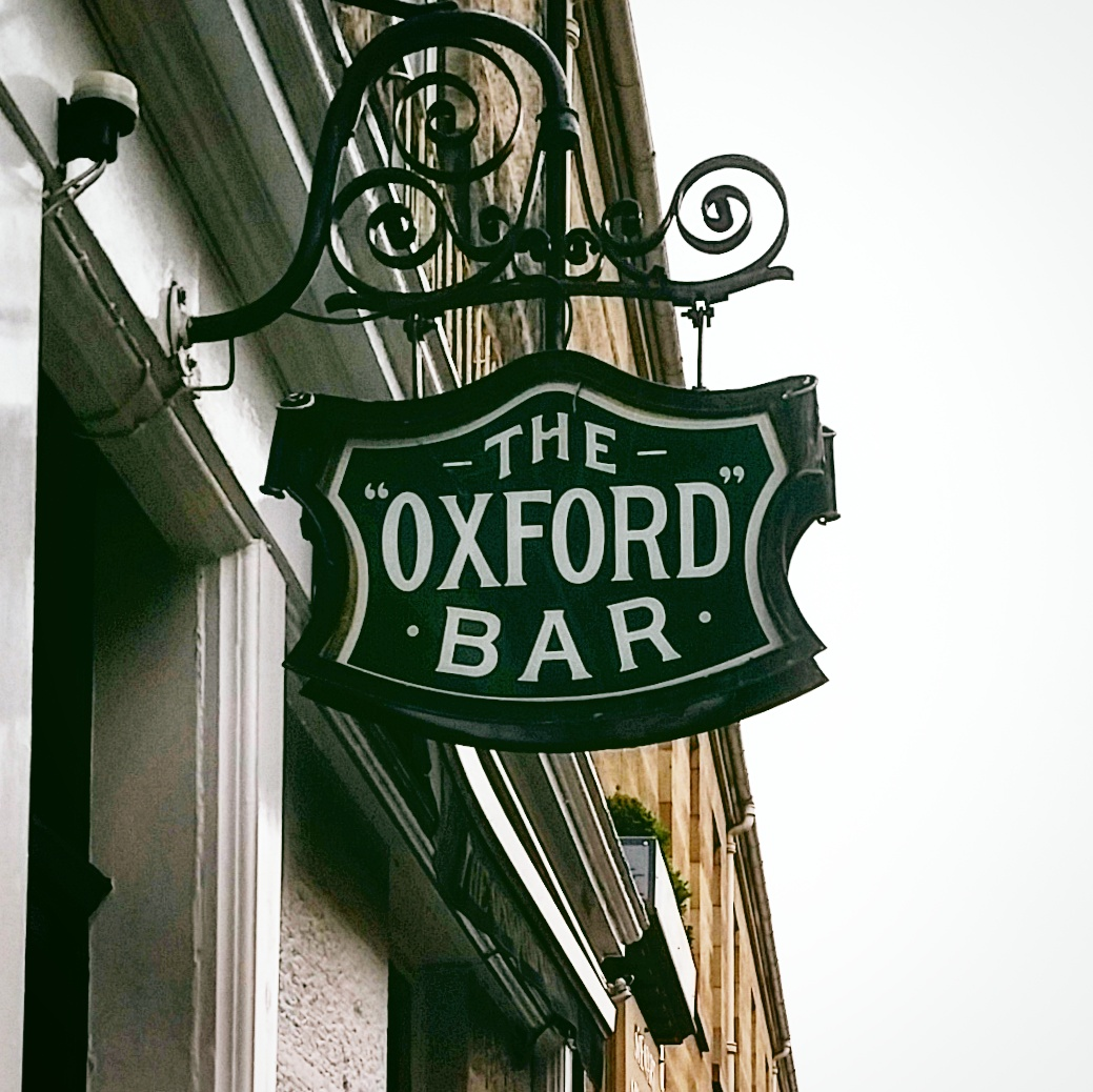 The Oxford Bar. Edinburgh, Scotland. 2016.