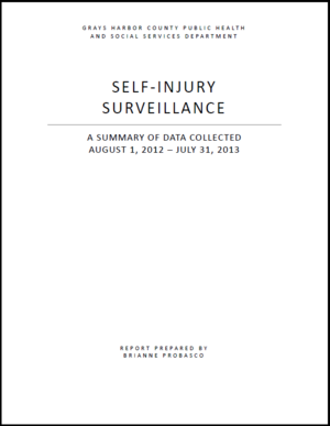Self-Injury Surveillance Report, Grays Harbor County (.pdf)