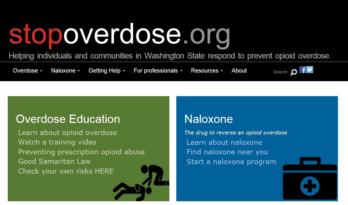Visit stopoverdose.org (website)