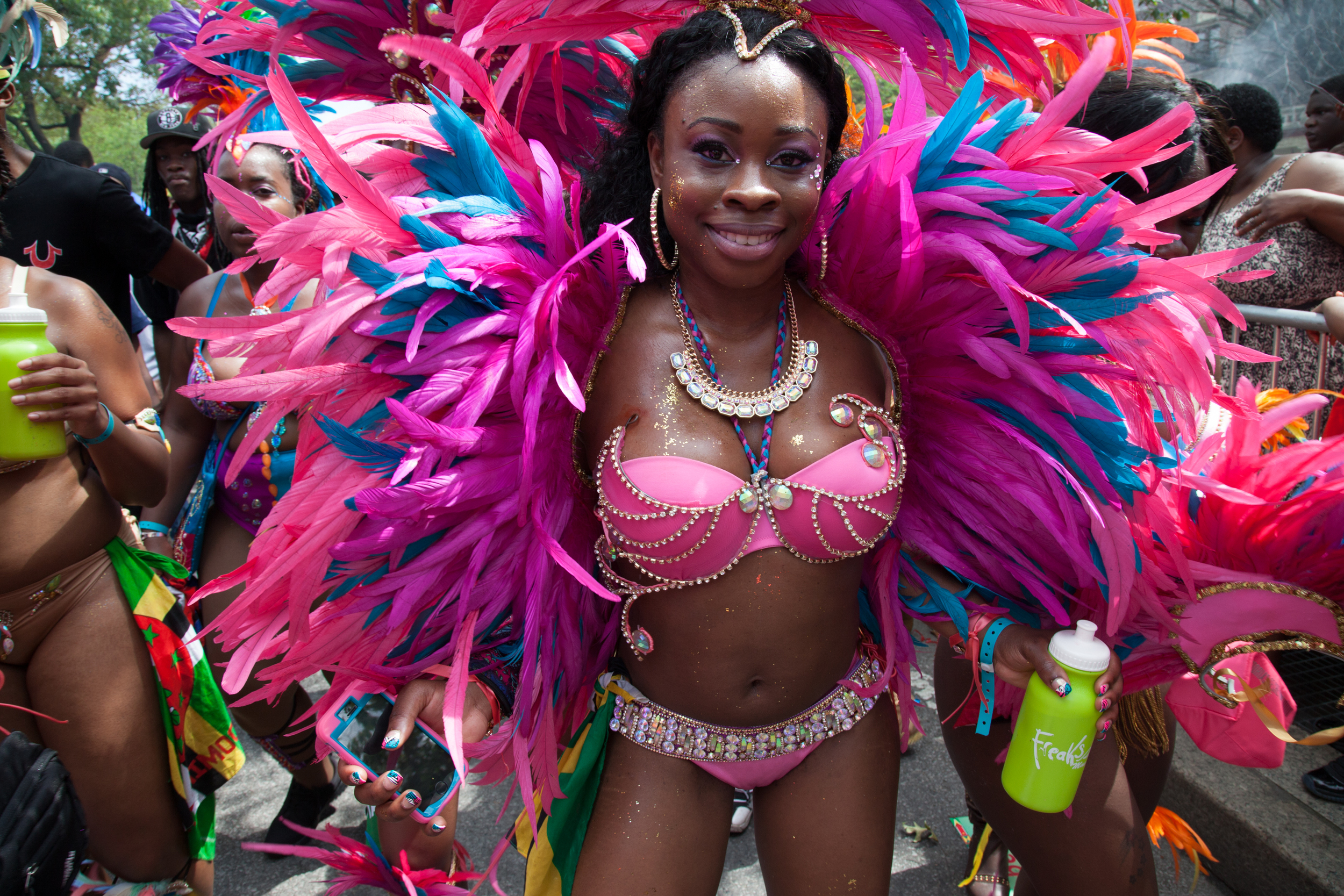 West Indian Parade, NYC, Sept 1, 2014