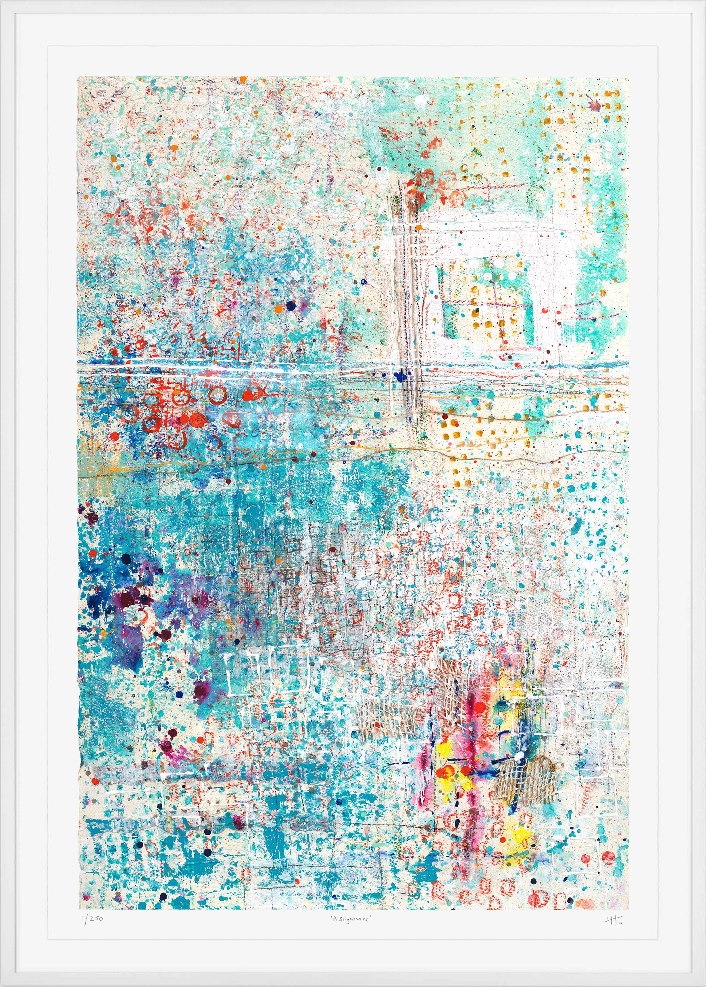 'A Brightness' LIMITED EDITION GICLEE PRINT /Edition of 250 Size: 105cm x 76cm (framed) £475 (includes frame) / £350 unframed  purchase via    contact form