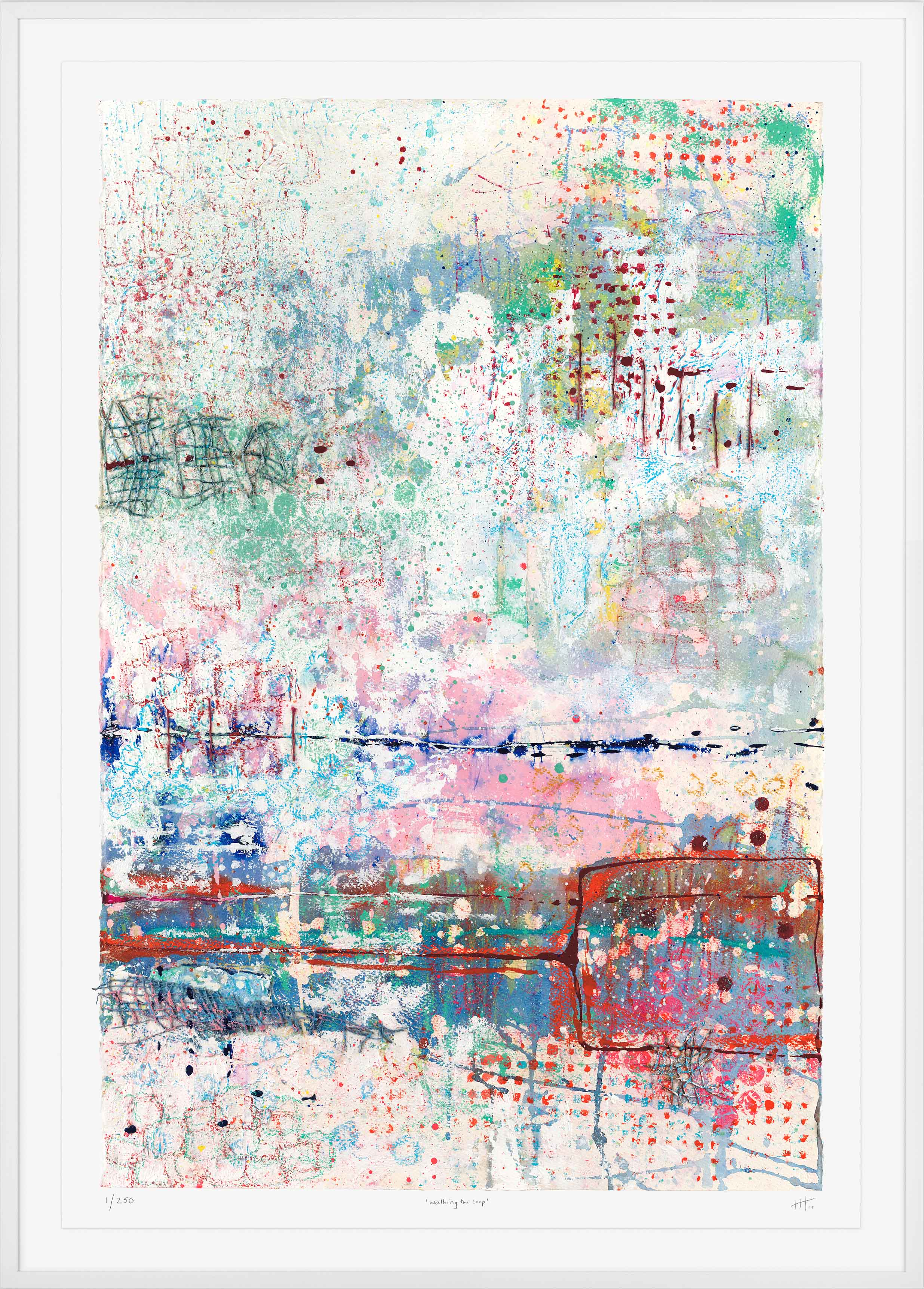 'Walking the Loop' LIMITED EDITION GICLEE PRINT / Edition of 250 Size: 105cm x 76cm (framed) £475 (includes frame) / £350 unframed  purchase via    contact form