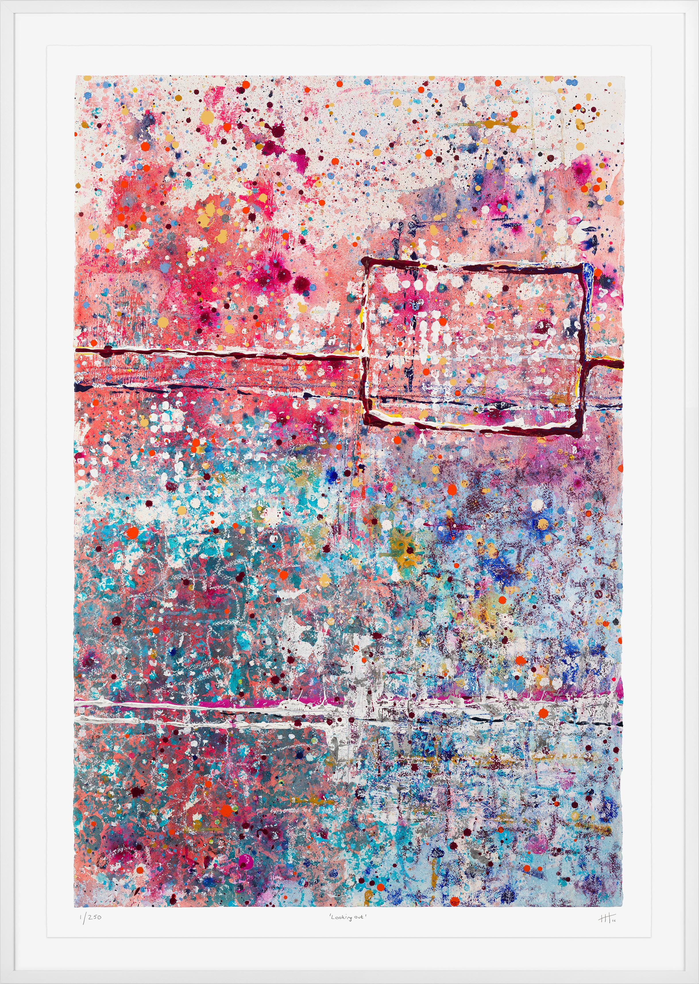 'Looking Out' LIMITED EDITION GICLEE PRINT / Edition of 250 Size: 105cm x 76cm (framed)  £475 (includes frame) / £300 unframed  purchase via    contact form