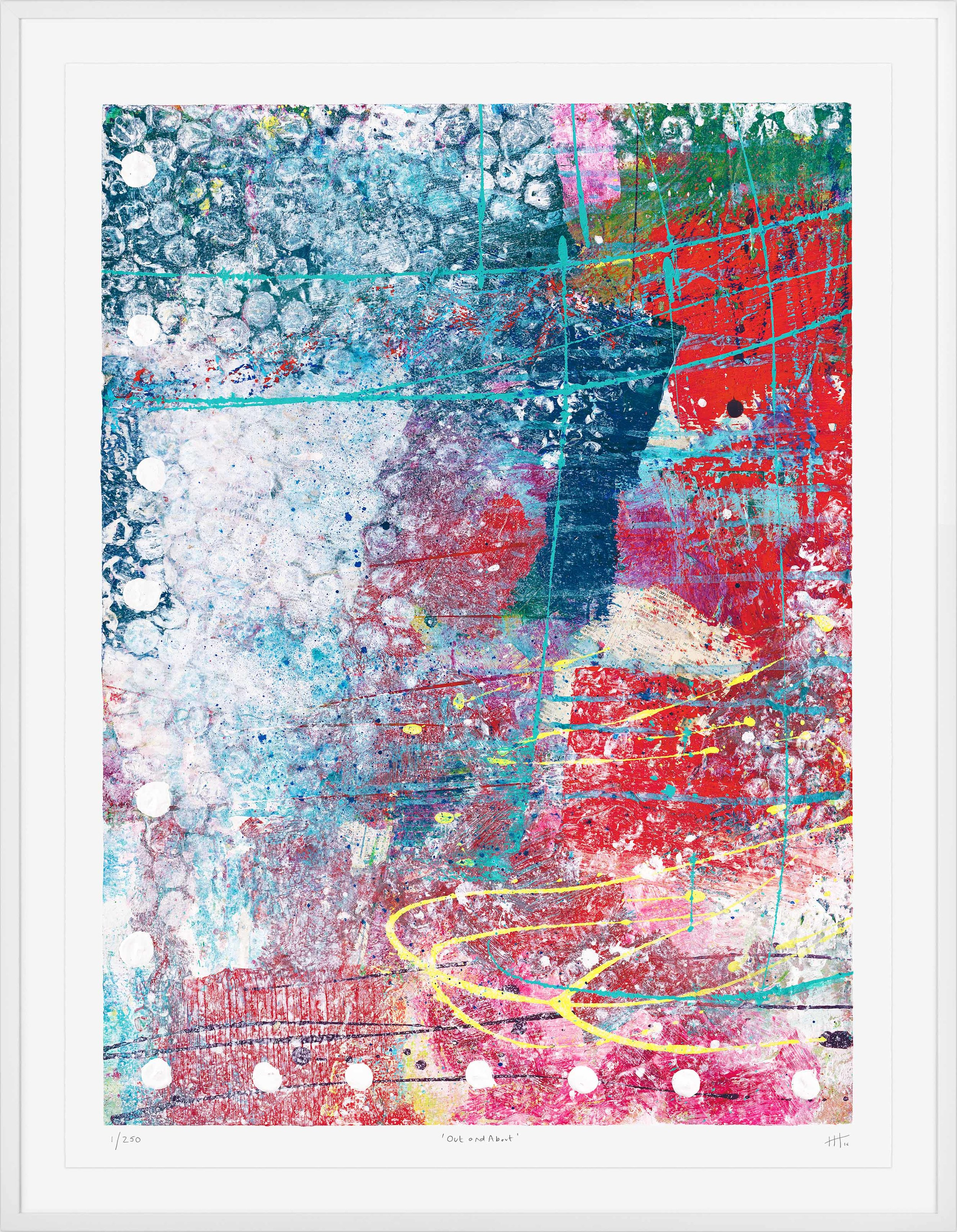 'Out & About' LIMITED EDITION GICLEE PRINT / Edition of 50 Size: 95cm x 70cm (framed)  £475 (includes frame) / £300 unframed  purchase via    contact form