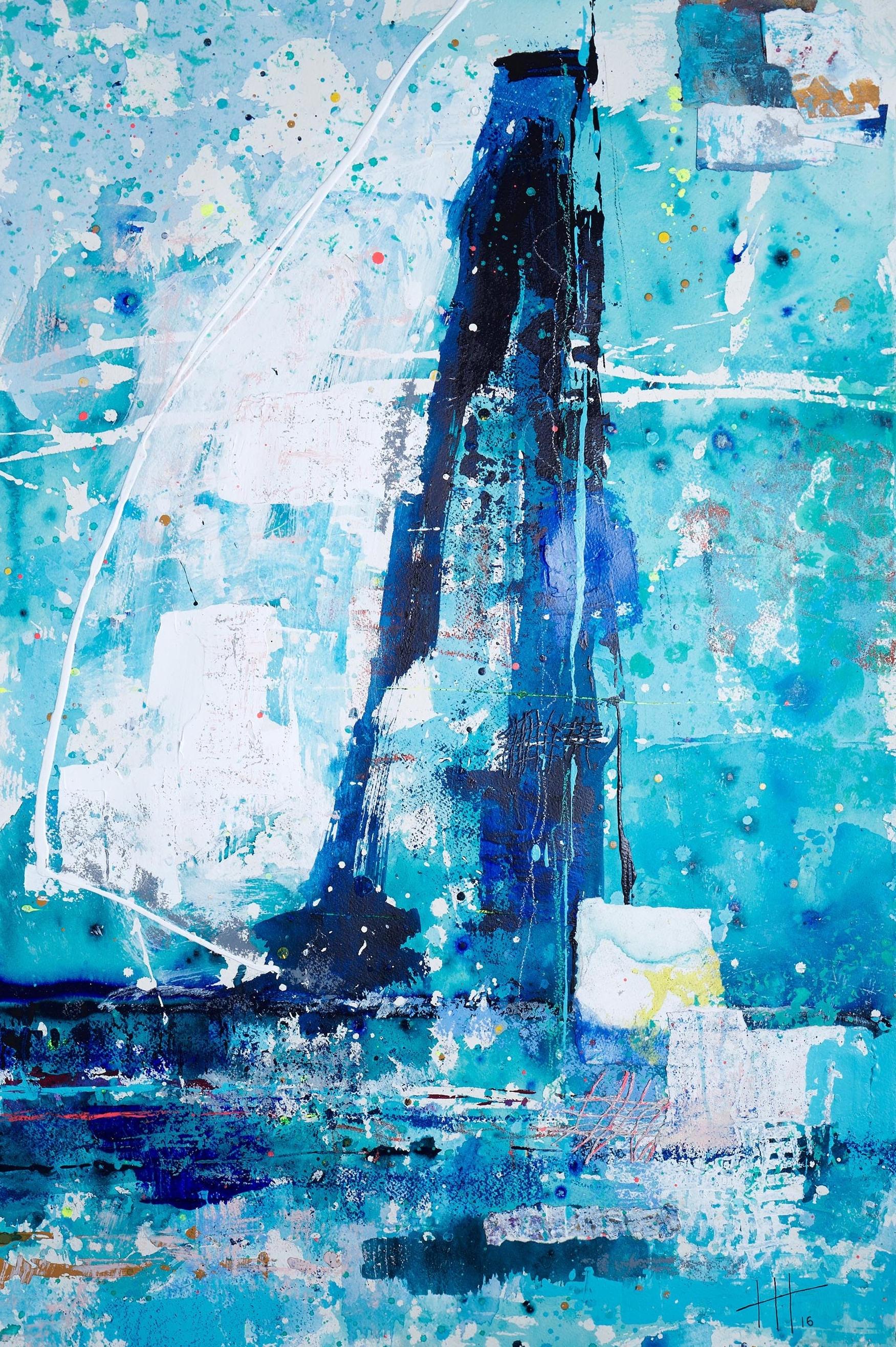 Bespoke Commission Piece Acrylic & Mixed Media / 129cm x 93cm (framed)